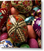 Easter Eggs Metal Print by Garry Gay