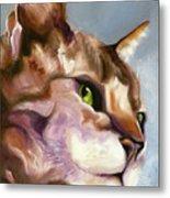 Egyptian Mau Princess Metal Print by Susan A Becker