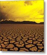 El Mirage Desert Metal Print by Larry Dale Gordon - Printscapes