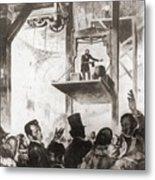 Elisha Graves Otis 1811-1861 Metal Print by Everett