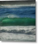 Emerald Sea Metal Print by Donna Blackhall