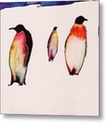 Emperors On Ice Metal Print by Carolyn Doe