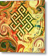 Endless Knot Two Metal Print by Kevin J Cooper Artwork