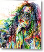 Enigma Metal Print by Callie Fink