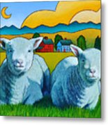 Ewe Two Metal Print by Stacey Neumiller