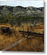 Ewing-snell Ranch 4 Metal Print by Larry Ricker