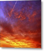 Exploded Sky Metal Print by Michal Boubin