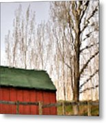 Expressionism Reflected Metal Print by Steven Milner