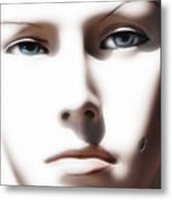 Eye Contact Metal Print by Dan Holm