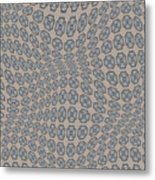 Fabric Design 12 Metal Print by Karen Musick