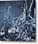 Facing The Enemy II Metal Print by Marc Garrido
