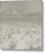 Faded Storm Metal Print by Scott Sawyer