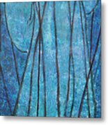 Faith At The Sea Of Reeds Metal Print by Mordecai Colodner