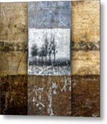 Fall Into Winter Metal Print by Carol Leigh