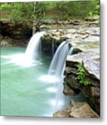 Falling Water Falls 5 Metal Print by Marty Koch