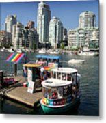 False Creek In Vancouver Metal Print by Tom Buchanan