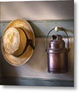 Farm - Tool - The Coat Rack Metal Print by Mike Savad
