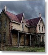 Farm House Metal Print by Tom Straub