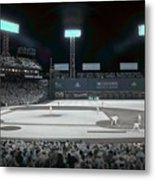 Fenway Infrared Metal Print by James Walsh