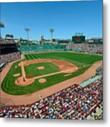 Fenway Park - Boston Red Sox Metal Print by Mark Whitt