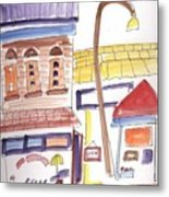 Festival In The City 4  Metal Print by B L Qualls
