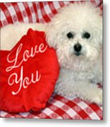 Fifi Loves You Metal Print by Michael Ledray