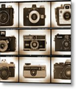 Film Camera Proofs 1 Metal Print by Mike McGlothlen