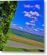 Finger Lakes Country Metal Print by Elizabeth Hoskinson
