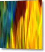 Fire And Water Metal Print by Amy Vangsgard