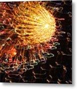 Fire Flower Metal Print by Karen Wiles