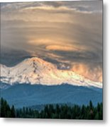 Fire On The Mountain Metal Print by Loree Johnson