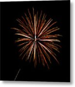 Fire Works Metal Print by Gary Langley