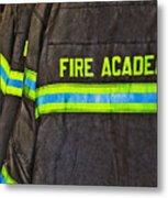 Fireman Jackets Metal Print by Skip Nall
