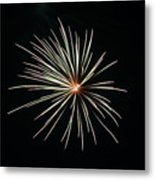 Fireworks 002 Metal Print by Larry Ward