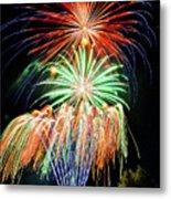 Fireworks No.1 Metal Print by Niels Nielsen