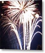 Fireworks No.3 Metal Print by Niels Nielsen
