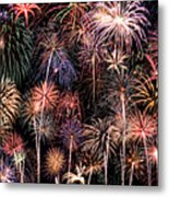 Fireworks Spectacular II Metal Print by Ricky Barnard