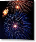 Fireworks Wixom 1 Metal Print by Michael Peychich