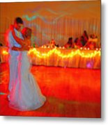 First Dance Metal Print by Jame Hayes