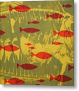 Fish For Thought Metal Print by Chris Steinken