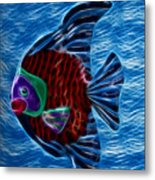 Fish In Water Metal Print by Shane Bechler