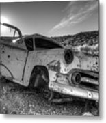 Fixer Upper Metal Print by Bob Christopher