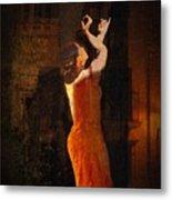 Flamenco In The Streets Metal Print by tim Kahane