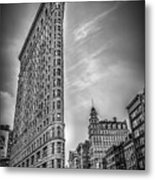 Flatiron Metal Print by Shari Mattox