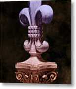 Fleur De Lis V Metal Print by Tom Mc Nemar