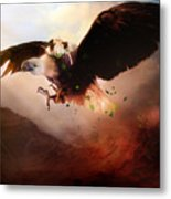 Flight Of The Eagle Metal Print by Mary Hood