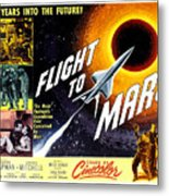 Flight To Mars, 1951 Metal Print by Everett