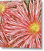 Floral Design No 1 Metal Print by Ben and Raisa Gertsberg