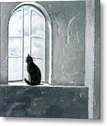 Fly Watching Metal Print by Robert Foster