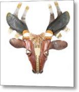 Footloose Moose Metal Print by Michael Jude Russo
